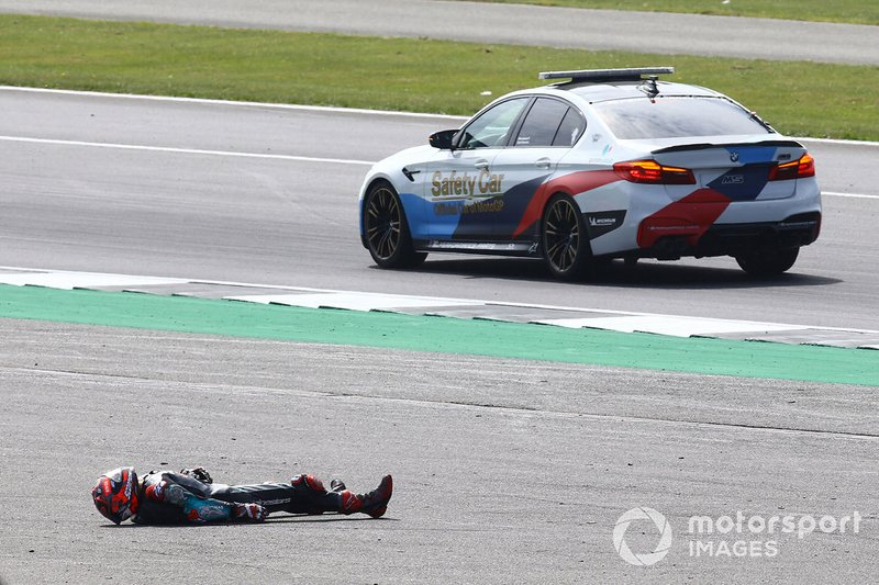 Fabio Quartararo, Petronas Yamaha SRT accidente