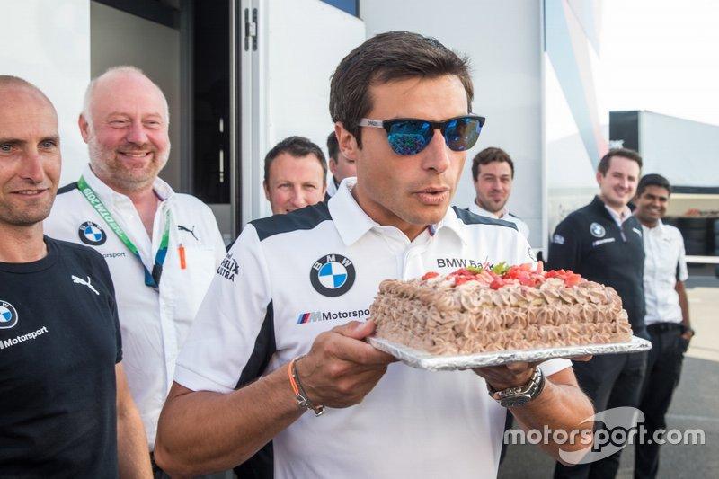 Bruno Spengler, BMW Team RMG celebra su cumpleaños