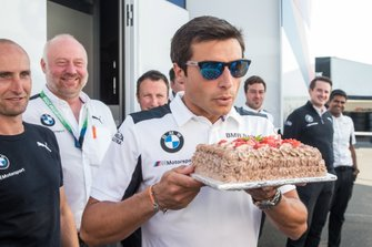 Bruno Spengler, BMW Team RMG celebrate his birthday