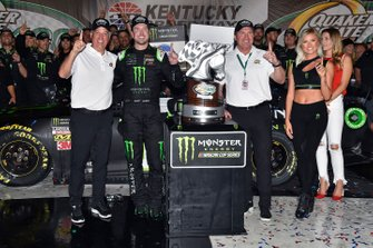 1. Kurt Busch, Chip Ganassi Racing, Chevrolet Camaro Monster Energy
