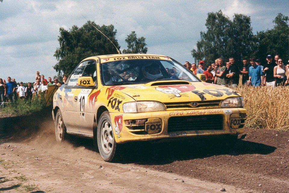 Bartłomiej Baniowski, Piotr Wieczorek, Subaru Impreza WRX