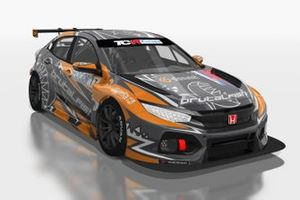 Martin Ryba, Brutal Fish Racing Team, Honda Civic Type R FK7 TCR