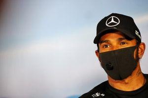 Lewis Hamilton, Mercedes-AMG Petronas F1 in conferenza stampa