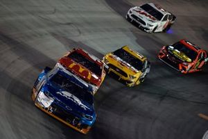 William Byron, Hendrick Motorsports, Chevrolet Camaro Axalta, Matt Kenseth, Chip Ganassi Racing, Chevrolet Camaro McDonald's McDelivery, Clint Bowyer, Stewart-Haas Racing, Ford Mustang Rush Truck Centers/Mobil 1