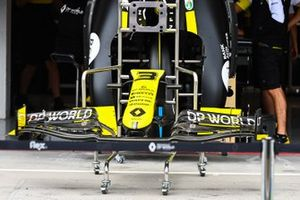 A front wing of the Daniel Ricciardo, Renault F1 Team R.S.20