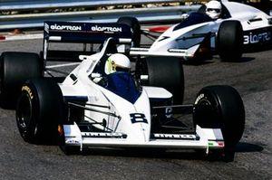 Stefano Modena, Brabham BT58, Martin Brundle, Brabham BT58