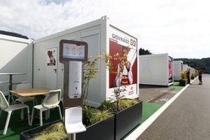 Alfa Romeo Racing hospitality