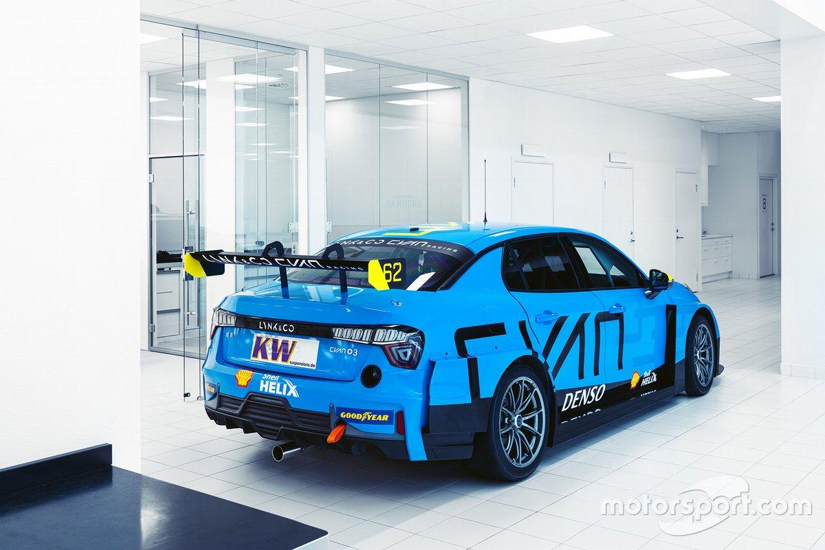 Lynk & Co 03 TCR, Cyan Racing Lynk & Co