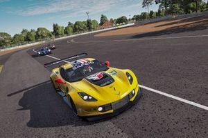 #64 Corvette Racing Corvette C7.R: Tommy Milner, Jan Magnussen, Dennis Lind, Alen Terzic