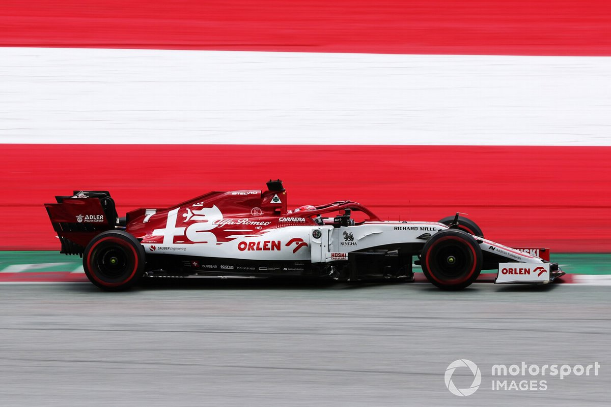 19-е место - Кими Райкконен (Alfa Romeo) - 1:05.224