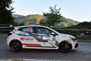 Nicola Cazzaro, Giovanni Brunaporto, Delta Rally CR Motorsport, Renault Clio RS Line R1