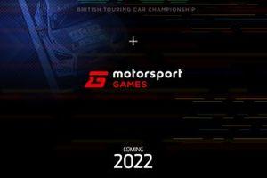 Anuncio de BTCC y Motorsport Games
