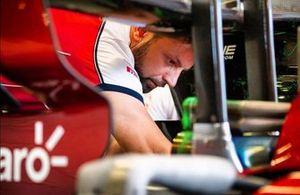 Tiago Conte Fadel, meccanico Alfa Romeo