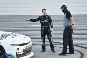 Justin Haley, Kaulig Racing, Chevrolet Camaro LeafFilter Gutter Protection and Chris Rice.