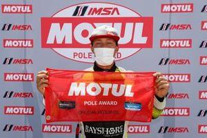 Pole GTD: #12 AIM VASSER SULLIVAN Lexus RC F GT3: Frankie Montecalvo