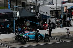 #16 Wright Motorsports Porsche 911 GT3 R, GTD: Ryan Hardwick, Patrick Long, Pit Stop