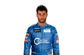 Daniel Ricciardo in McLaren-pak