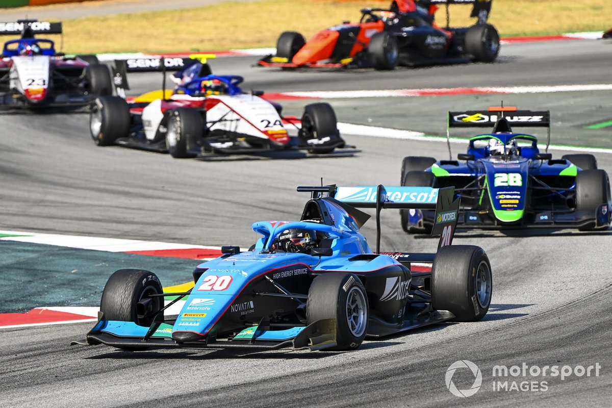 Calan Williams, Jenzer Motorsport, Cameron Das, Carlin Buzz Racing
