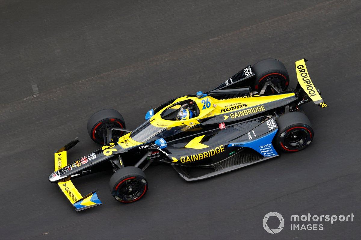 17º Zach Veach, Andretti Autosport – Honda