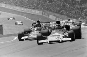 Jackie Oliver, BRM P160B, Carlos Pace, March 711 Ford