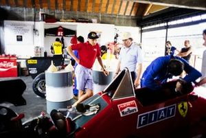 Niki Lauda et Michele Alboreto, Ferrari 126C4