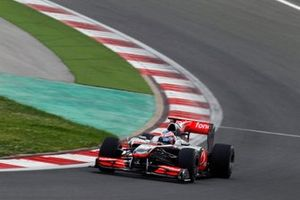 Jenson Button, McLaren MP4-25 Mercedes