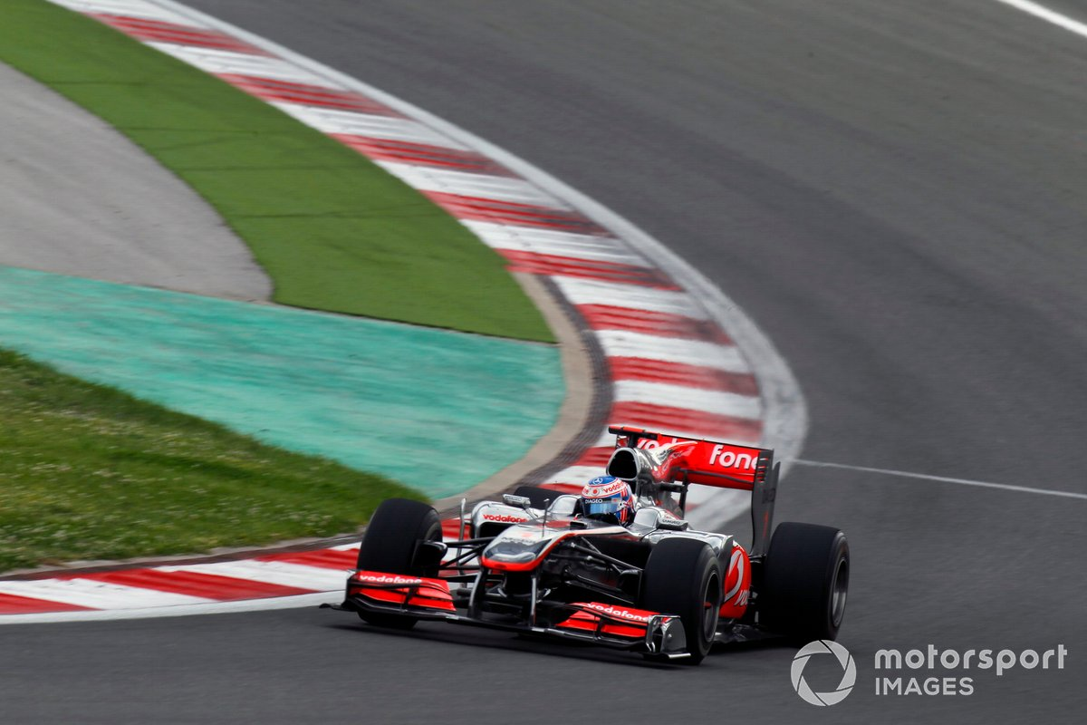 Jenson Button, McLaren MP4-25 Mercedes