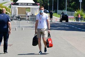 Paul di Resta, Sky, TV arrive au circuit