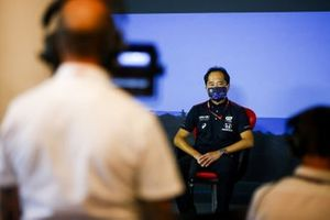 Toyoharu Tanabe, F1 Technical Director, Honda in the press conference