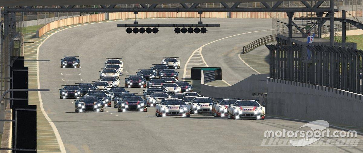 Seletiva Crown Racing em automobilismo virtual