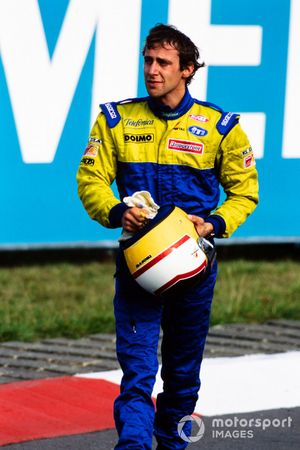 Luca Badoer, Minardi crying