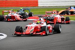 Oscar Piastri, Prema Racing, Logan Sargeant, Prema Racing and Frederik Vesti, Prema Racing