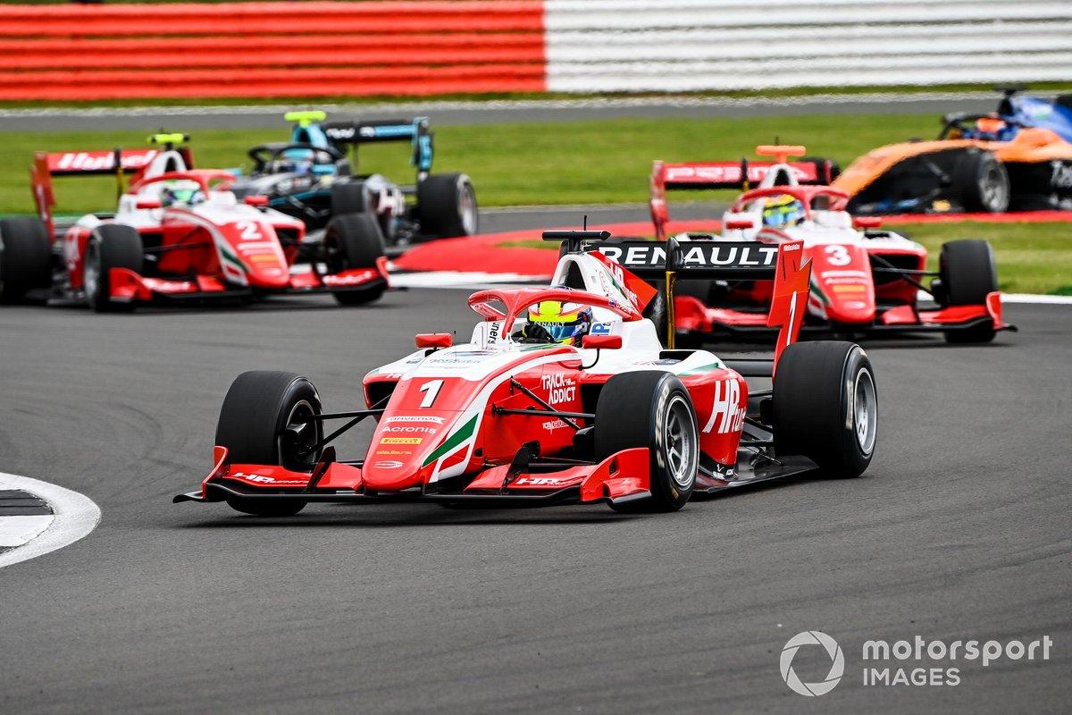 Oscar Piastri, Prema Racing, Logan Sargeant, Prema Racing e Frederik Vesti, Prema Racing