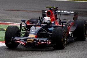 Le vainqueur Sebastian Vettel, Toro Rosso STR03 Ferrari