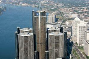The GM Renaissance Center in Detroit