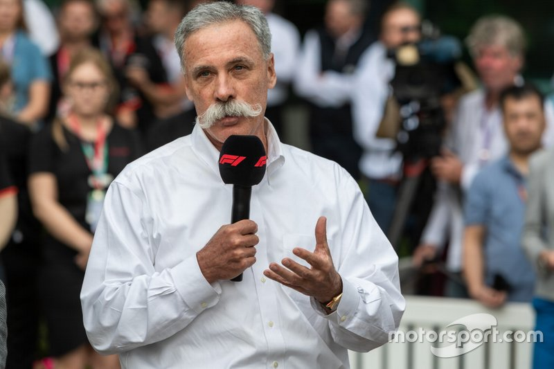 Chase Carey, CEO di F1