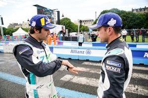 Sérgio Jimenez, Jaguar Brazil Racing, ve Bryan Sellers, Rahal Letterman Lanigan Racing