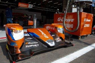 #26 G-Drive Racing Aurus 01: Roman Rusinov, Jean-Eric Vergne, Job Van Uitert