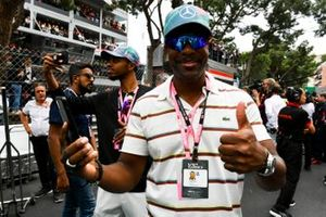 Comedian and Actor Chris Tucker on the grid