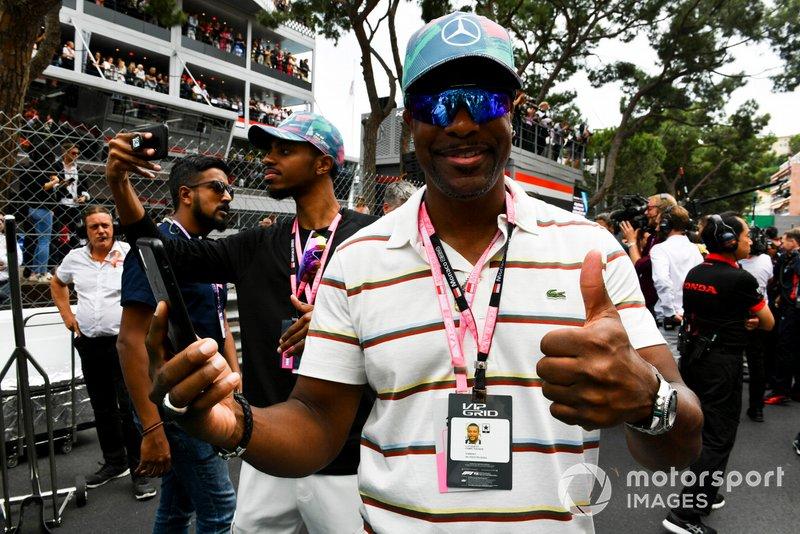 Гран При Монако: актер Крис Такер