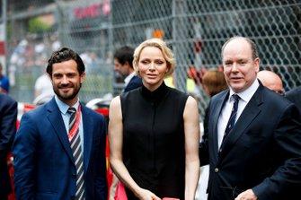 Principe Albert II di Monaco con la Principessa Charlene