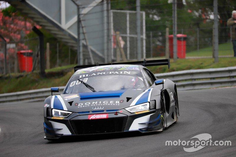 #55 Attempto Racing Audi R8 LMS GT3 2019: Steijn Schothorst, Nick Foster