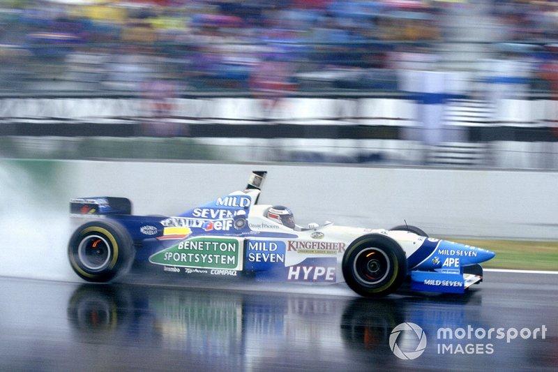 Gerhard Berger, Benetton B196-Renault