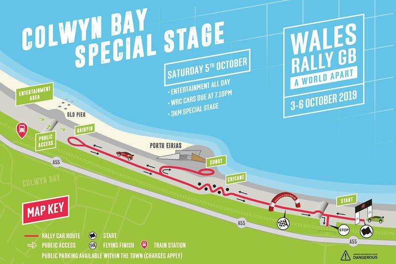 Especial Rally Gales GB: Bahía de Colwyn