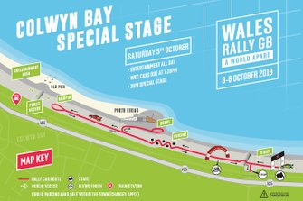 Colwyn Bay, Special Stage