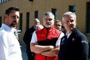 Dr. Florian Kamelger, fondateur et propriétaire d'AF Racing AG et Team principal R-Motorsport , Dieter Gass, directeur d'Audi Sport, Jens Marquardt, directeur de BMW Motorsport.