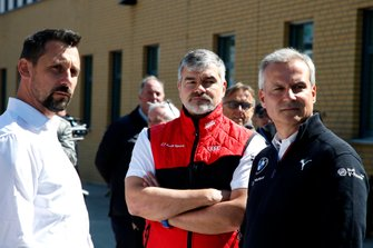 Dr. Florian Kamelger, oprichter en eigenaar AF Racing AG en teambaas R-Motorsport, Dieter Gass, baas DTM Audi Sport, Jens Marquardt, BMW Motorsport Director