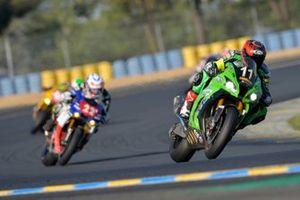 #11 Kawasaki: Jeremy Guarnoni, David Checa, Erwan Nigon