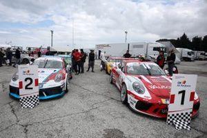 Porsche nel paddock