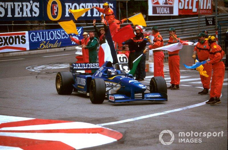 Monaco 1996 - Olivier Panis (Ligier)